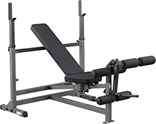 Body-Solid Olympic Bench with Leg Developer (GDIB46L)