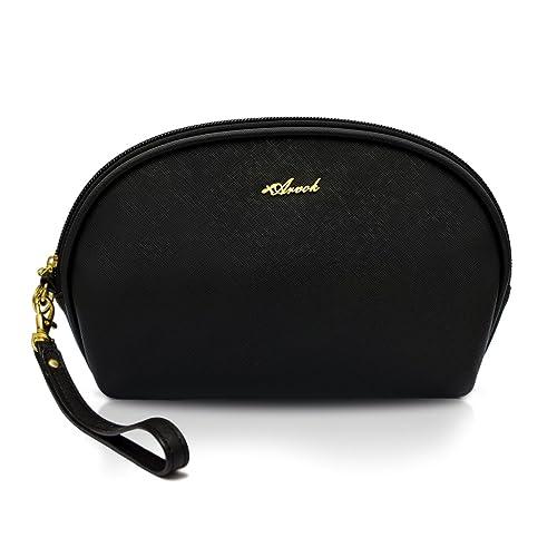 02fc25113b96 Arvok Travel Makeup Bag- Portable waterproof Cosmetic Pouch Multifunction  Train Case Pencil Case Handy Toiletry