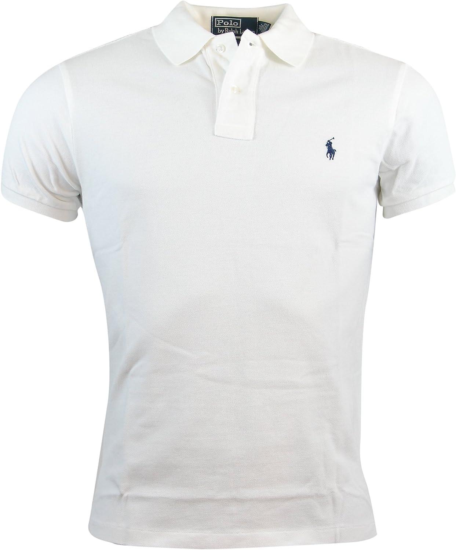Polo Ralph Lauren Mens Custom Fit Mesh Polo Shirt