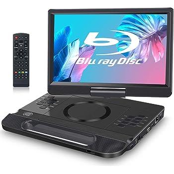 """FANGOR 11.4"""" BLU-Ray Reproductor de DVD Portatil Full HD 1080P ..."""