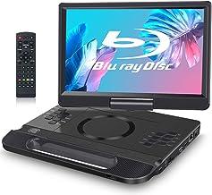 """FANGOR 11.4"""" BLU-Ray Reproductor de DVD Portatil Full HD"""
