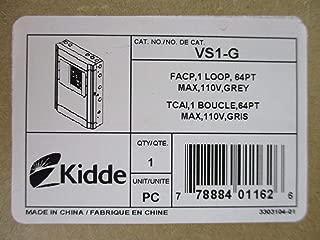 Kidde VS1-G - One Loop Fire Alarm Control Panel 110V - Gray Door