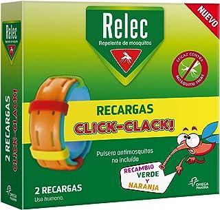 Relec Recargas Pulsera Repelente Antimosquitos - 2 recambios