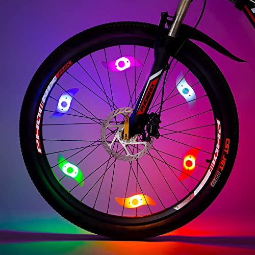 Colorful Bike Bicycle Cycling Spoke Wire Tire Tyre Wheel LED Bright Light