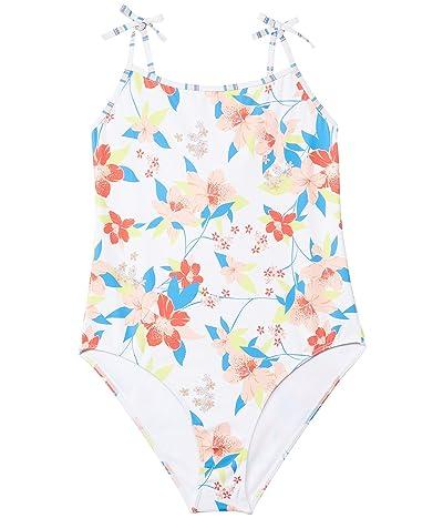 Roxy Kids Friendly Flower One-Piece Swimsuit (Big Kids)