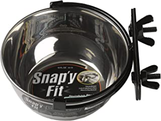 clip on water bowl for dog crate