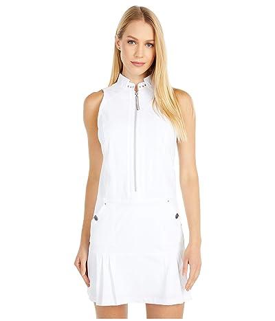 Jamie Sadock Airwear(r) Lightweight Dress with Shortie (Sugar White) Women