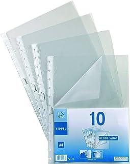 Viquel - Pochettes amovibles cristal lisse 8/100e ouverture 2 c ?t s