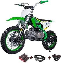 X-Pro 110cc Dirt Bike Pit Bike Kids Dirt Pitbike 110 Dirt Pit Bike with Gloves, Goggle and Handgrip