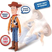 Toy Story Disney Pixar 4 Sheriff Woody, with Interactive Drop-Down Action