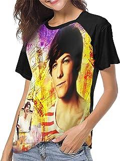 Louis Tomlinson T Shirt Women's Baseball Shirt Fashion Crew Neck Raglan T Shirts