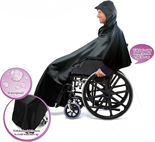"""popular 59"""" Wheelchair outlet sale Rain wholesale Poncho Cover online"""