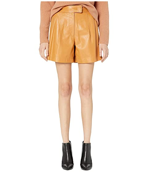 Sportmax Nepeta Leather Shorts