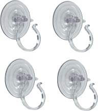 Adams Christmas 5750-88-1040 Giant Suction Wreath Holder - 4 Pack