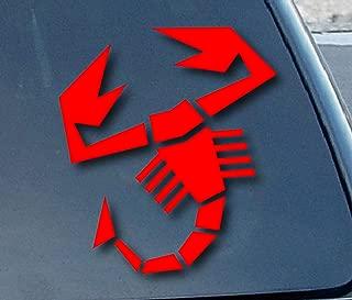 Fiat Abarth Scorpion Car Window Vinyl Decal Sticker 4
