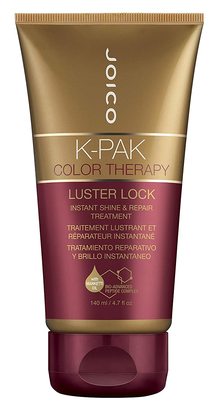 散歩レンド記述するジョイコ K-Pak Color Therapy Luster Lock Instant Shine & Repair Treatment 140ml/4.7oz並行輸入品