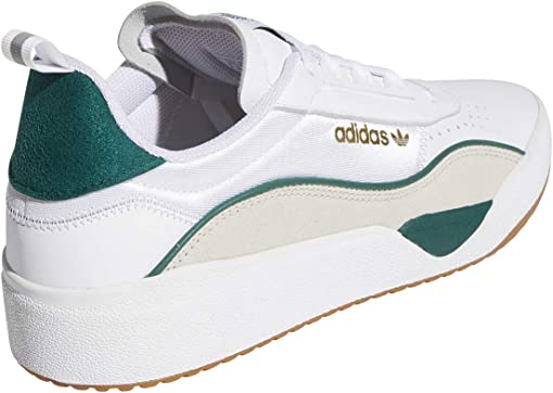 Footwear White/Collegiate Green/Clear Brown