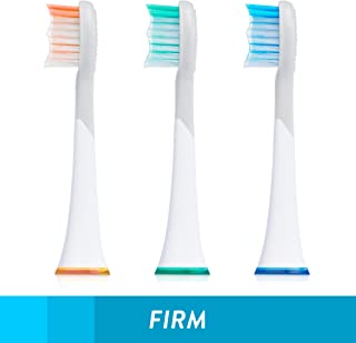 GreaterGoods Sonic Electric Replacement Heads, 3 Count for S/E Toothbrush (Replacement Heads)