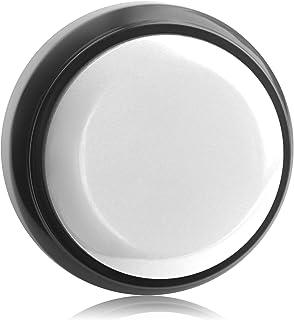 Neutral Sound Button,Talking Button,Record Sound Box Answer Buzzers 30 Seconds Recording (White and Black)