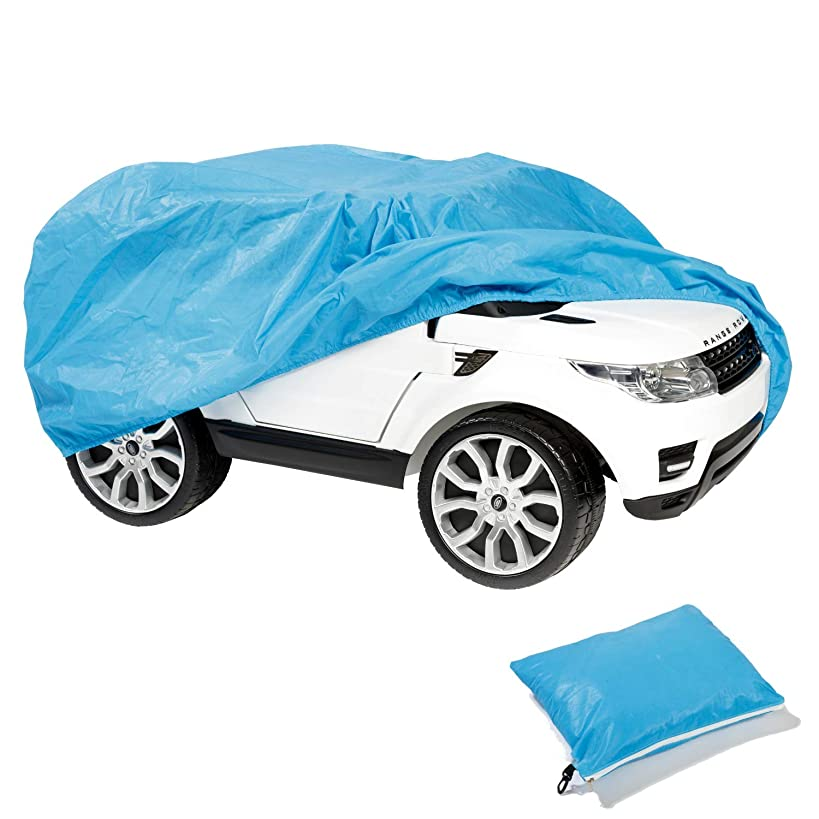 TIURE Ride On Kids Car Cover, Outdoor Wrapper for Electric Battery Powered Children Wheels Toy Vehicles