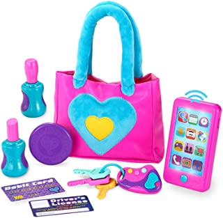 JOYIN Play-Act My First Purse Pretend Play Purse Toy Set for Little Girls, Interactive Purse Toy Set Including Pretend Pla...