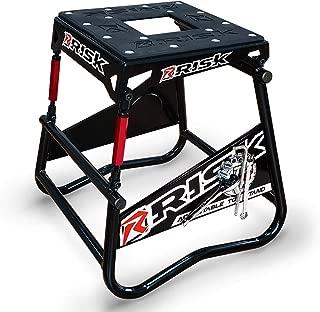 RISK Racing 00381 ATS Adjustable Top Magnetic Motocross/Dirt Bike Stand
