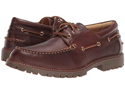 Sperry Gold Cup A/O Lug 3-Eye (Brown) Men