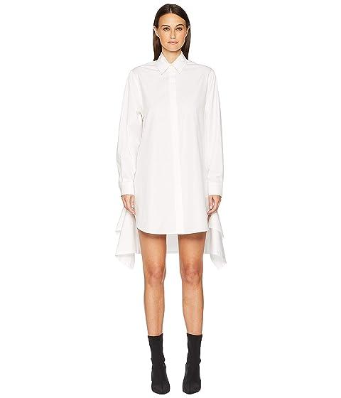 Sportmax Marmo Button Long Sleeve Shirtdress