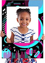 Music Photo Booth Frame.Music Party Decoration Photo Booth Props,Tik Tok Party Photo Booth Frame,Music Photo Stuido Booth