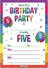 Best 5th birthday invitations Reviews