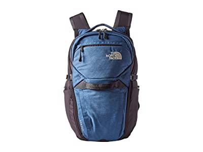 The North Face Router Backpack (Shady Blue Light Heather/Weathered Black) Backpack Bags