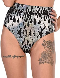iHeartRaves Women's Festival Rave Thong Booty Shorts