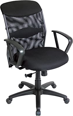 Alvin, Salambro, CH726, Manager's Office Chair - Mesh Backrest with Arm Rest