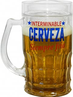 Blue Sky JARRA DE CERVEZA ENFRIADORA INTERMINABLE FRIA