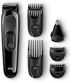 Braun Multi Grooming Kit MGK3020 6-in-1 Precision Trimmer for Beard and Hair Clippers