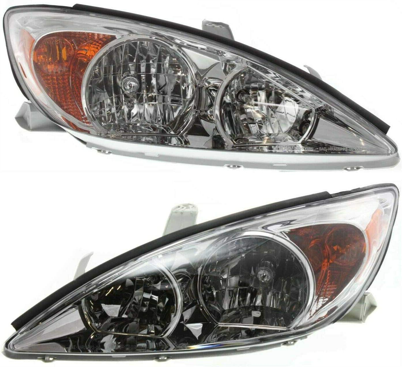 cskj Headlight Set Compatible Product with Very popular Sedan Chrome Left and H Right