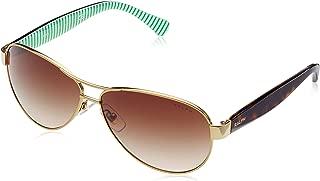 Kính mắt nữ cao cấp – Women's 0ra4096 Aviator Sunglasses, Gold Cream, 59.0 mm