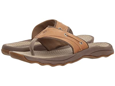 Sperry Outer Banks Thong Sandal (Tan) Men