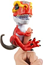 (Ripsaw) - WowWee Untamed T-Rex by Fingerlings - Ripsaw (Red) -Interactive Collectible Dinosaur