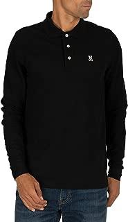 Men's Long Sleeve Polo Classic Colored Polo T Shirt
