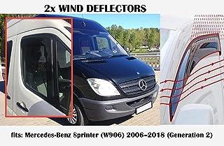 without SY-DFB 4Pcs//Set 1.3mm Side Wind Window Deflectors Visor Car Windshield Rain Guard Deflectors Fit For Toyota RAV4 2019~2020