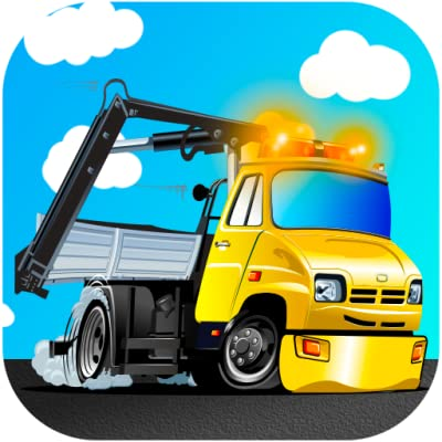 Cool Tow Truck Games for Kids: Driving down the highway