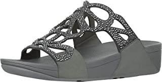 Fitflop Bumble Crystal Slide Sandals For Women