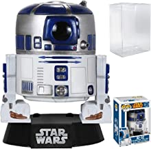 Funko Pop! Star Wars - R2-D2 Bobble Head Vinyl Figure (Bundled with Pop Box Protector Case)