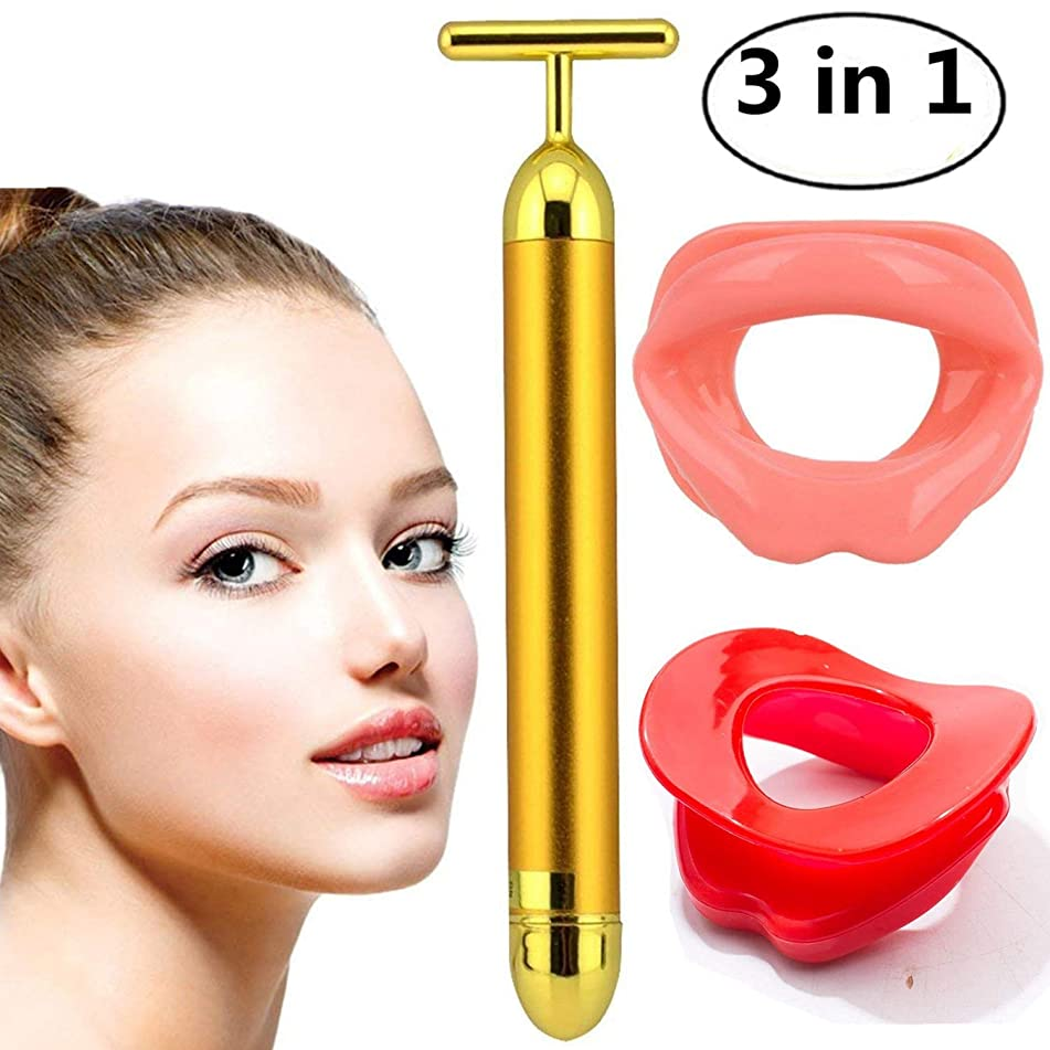 Beauty Bar Facial Massage, Silicone Face Slimmer Mouth Tightener Rubber, Instant Face Pull Tight Firming Lift, Anti-Wrinkle Anti-Aging Face Exercise Lips Trainer Face-Lift Body Spa Massage for Women