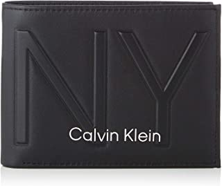 Calvin Klein NY Shaped 5CC With Coin Wallet, Black, 12 cm, K50K505316