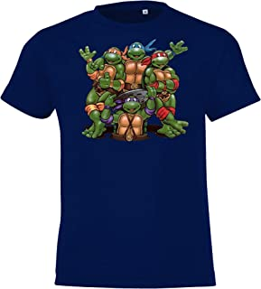 TRVPPY Kinder T-Shirt Modell Turtles Gr. 2-12 Jahre in vielen Farben