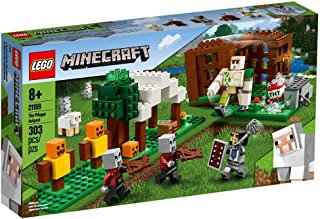 LEGO Minecraft The Pillager Outpost for age 8+ years old 21159