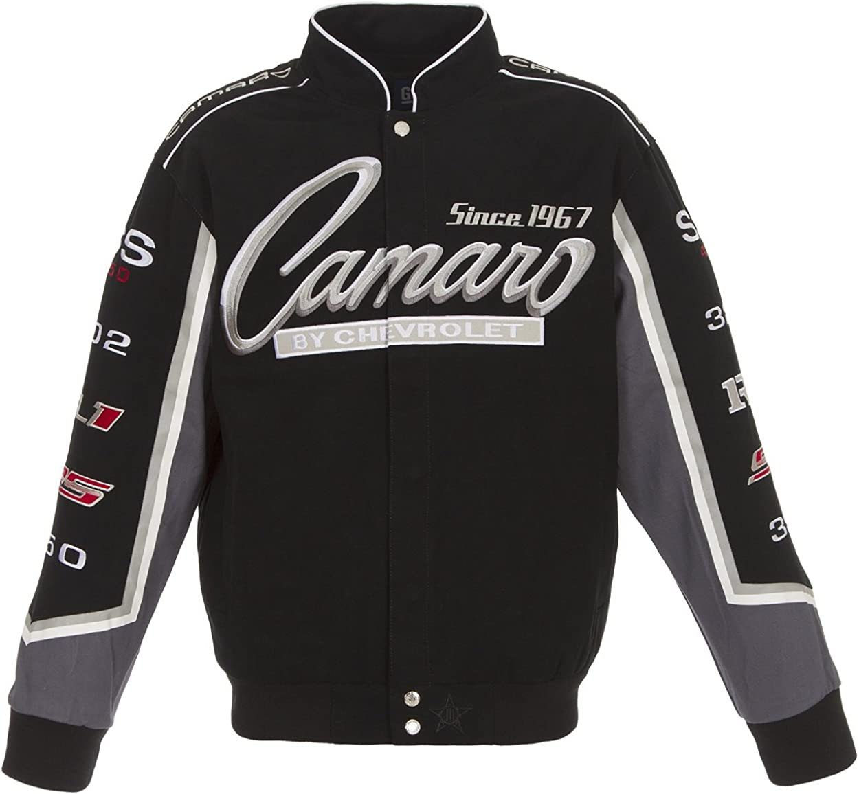 Camaro Cotton Black JH Shipping included trust Jacket Design Size
