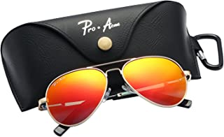 3a04653e3a47a Pro Acme Small Polarized Aviator Sunglasses for Kids and Youth Age 5-18